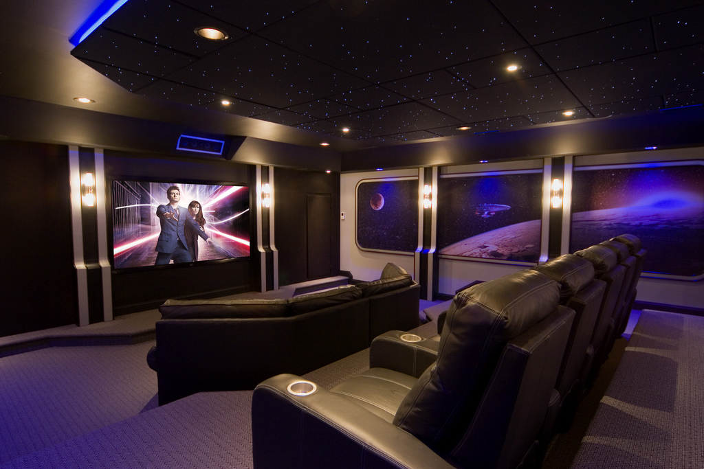 professionally installed home theater