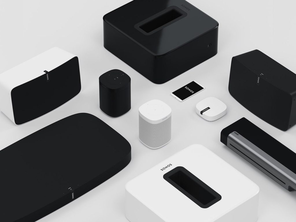 sonos wireless music products