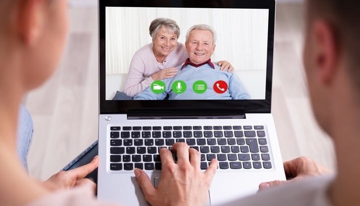 video chat with grandparents